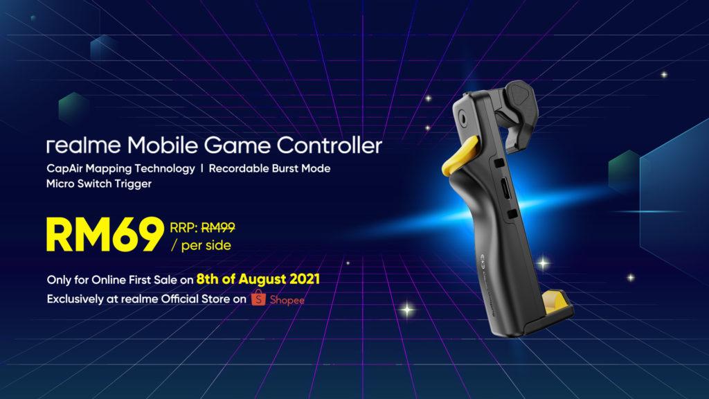 realme Alkaline Battery dan realme Mobile Game Controller akan ditawarkan mulai 8 Ogos ini di Shopee - harga promosi serendah RM 15 sahaja 5