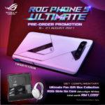 Asus ROG Phone 5 Ultimate Edition akan dibuka untuk pra-tempahan pada 8 Ogos ini – RM 4,999
