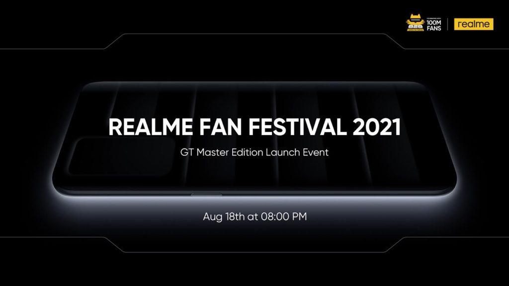 Pelancaran global realme GT Master Edition akan berlangsung pada 18 Ogos ini 5