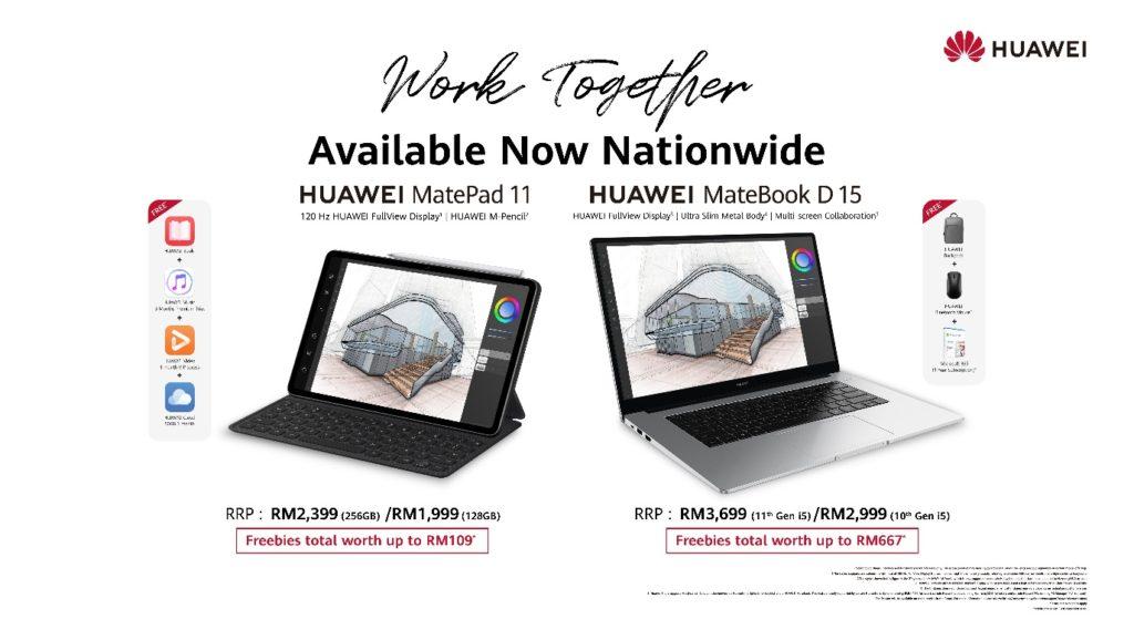 HUAWEI MatePad 11 dan Komputer Riba MateBook Series kini rasmi di Malaysia 7