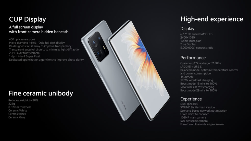 Xiaomi Mi Mix 4 kini rasmi dengan Snapdragon 888+, sensor kamera selfie dalam skrin dan pengecasan pantas 120W 19