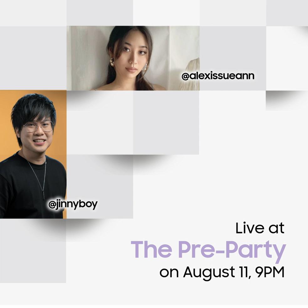 Saksikan Samsung Galaxy Unpacked Pre-Party di YouTube Samsung Malaysia pada jam 9 malam ini 6