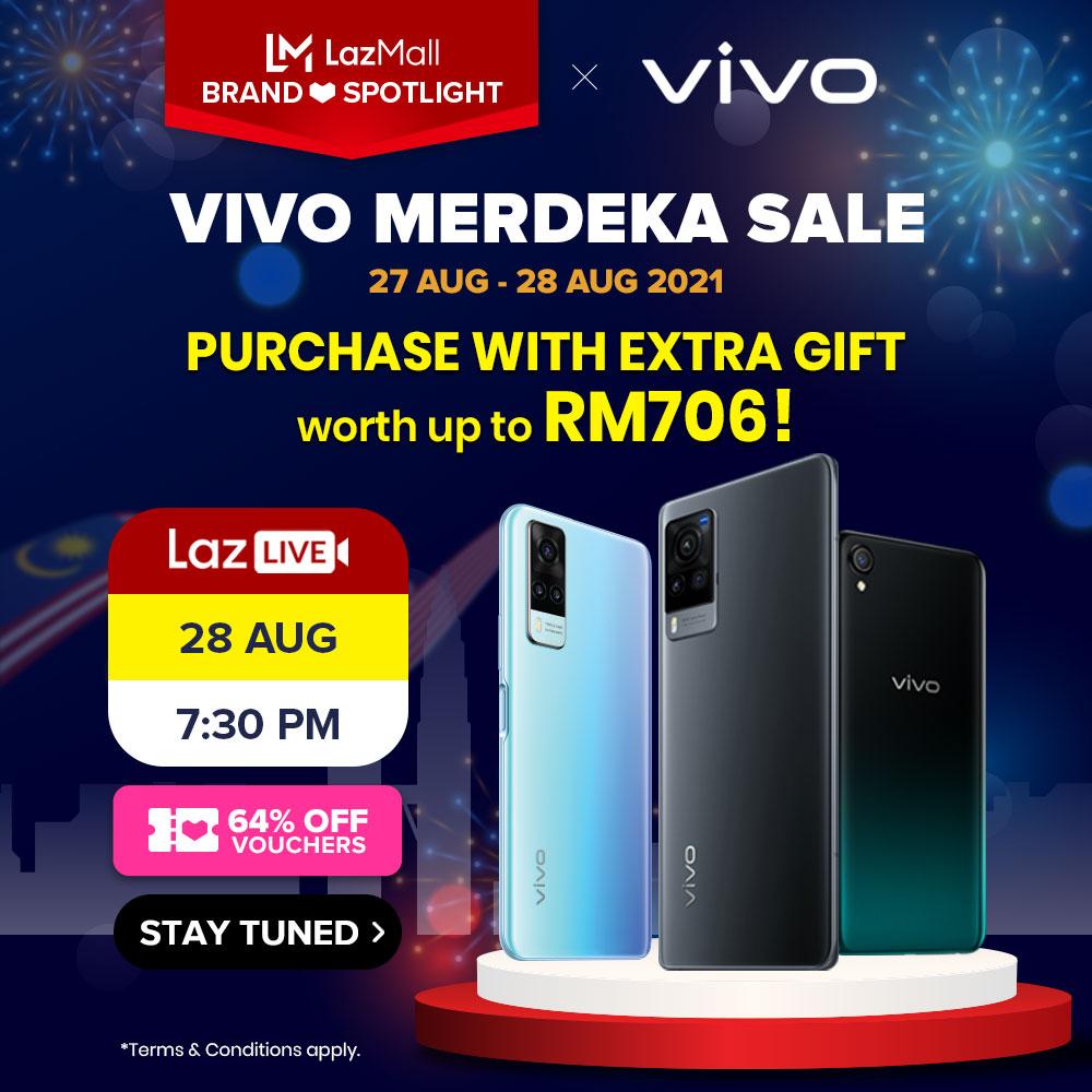 Vivo tawar diskaun bernilai RM 1,200 bagi pembelian Vivo X50 Pro di Lazada pada 27 & 28 Ogos ini 15