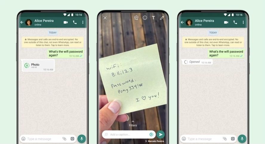 Ciri Penghantaran Video dan Imej View Once di WhatsApp kini ditawarkan kepada pengguna Android dan iOS 3