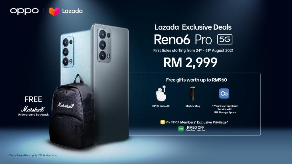 Oppo Reno6 Pro 5G akan mula dijual esok - harga RM 2,999 3