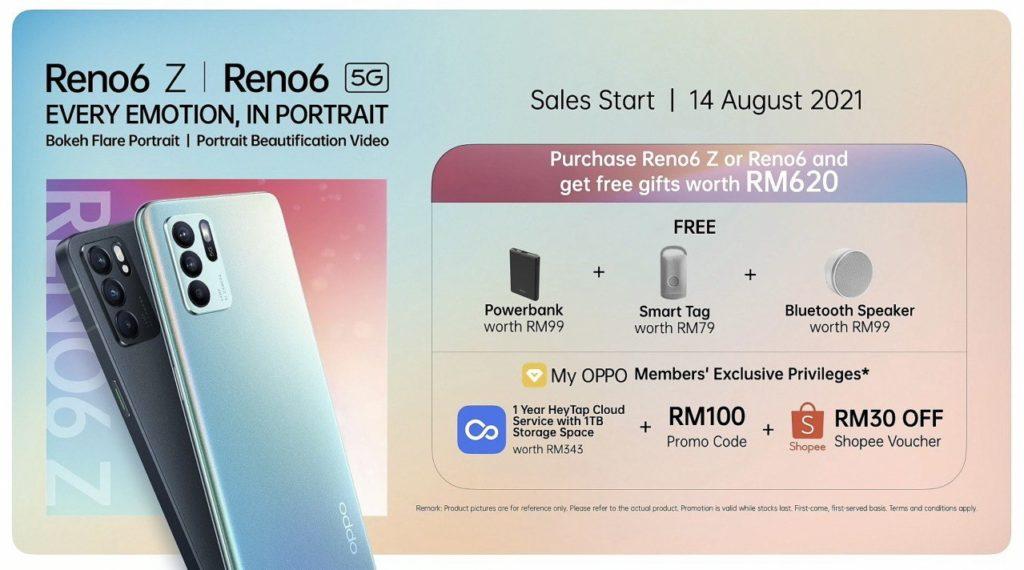 Oppo Reno6 5G dan Reno6 Z 5G kini rasmi di Malaysia pada harga dari RM 1,699 21