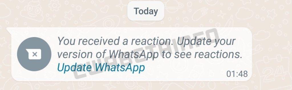 Ciri Reaksi Mesej akan ditawarkan pada WhatsApp tidak lama lagi 5