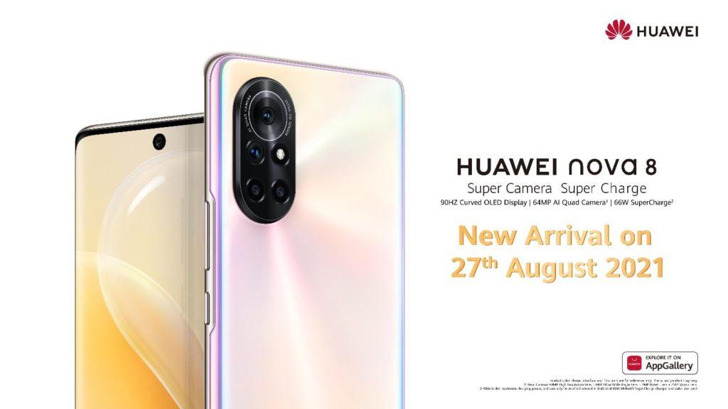 HUAWEI Nova 8 dengan skrin OLED 90Hz dan Quad-Kamera 64MP akan dilancarkan di Malaysia pada 27 Ogos ini 13
