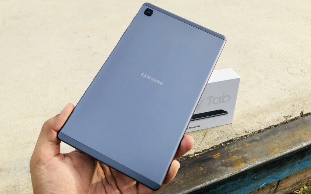 Pandang Pertama - Samsung Galaxy Tab A7 Lite - Tablet Mampu Milik pada harga RM 699 23