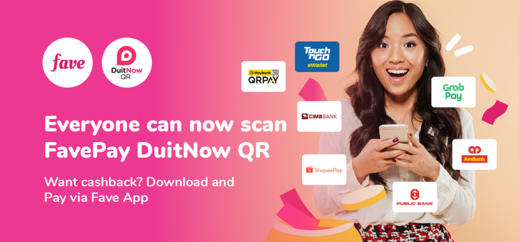 FavePay lancar kod QR DuitNow - sokongan pembayaran digital yang lebih menyeluruh 3