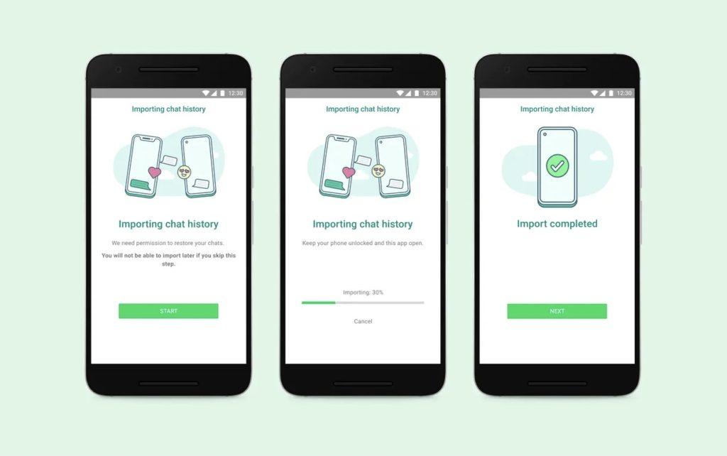 WhatsApp kini menawarkan ciri pemindahan sejarah chat dari iOS ke Android 3