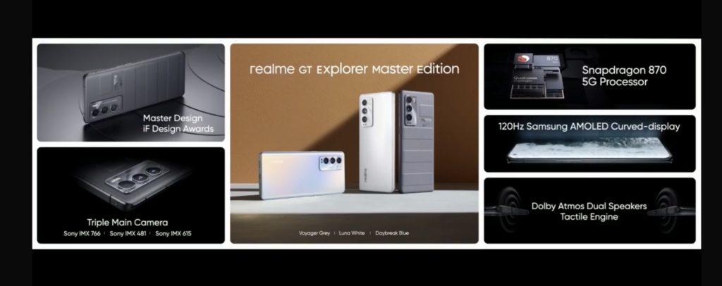 realme GT Explorer Master Edition dengan Snapdragon 870 kini rasmi untuk pasaran global - harga sekitar RM 2,475 5
