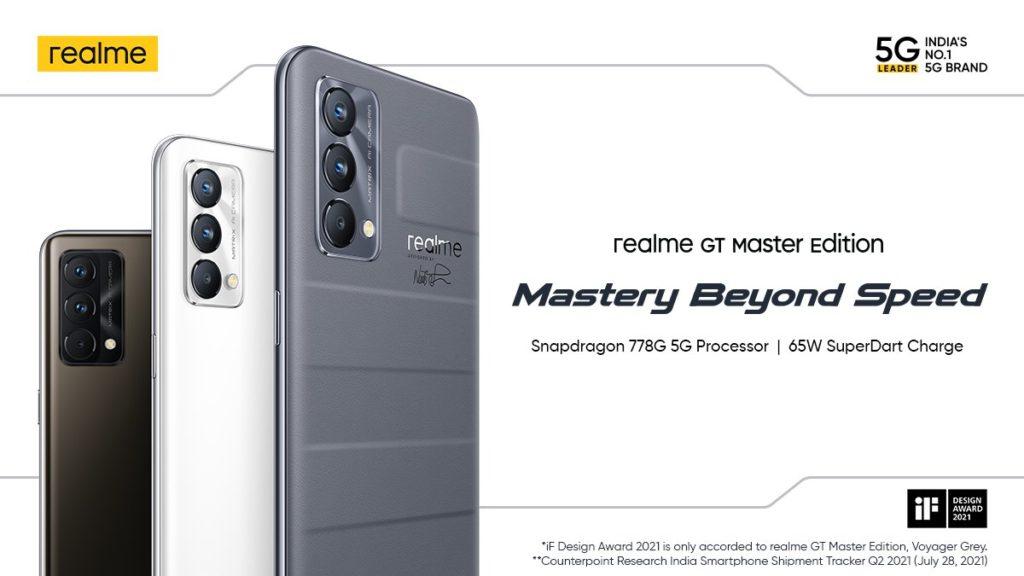 realme GT Master Edition kini rasmi untuk pasaran Global - harga sekitar RM 1,483 15