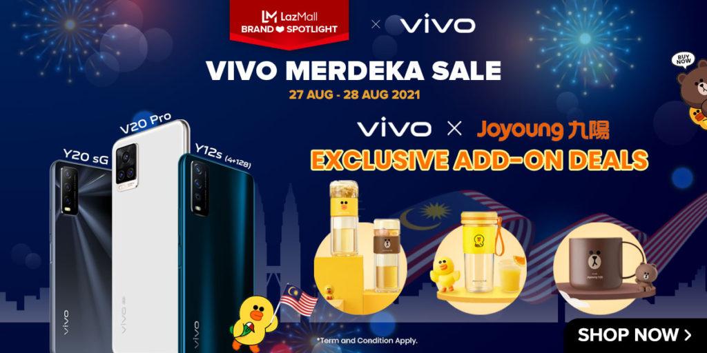 Vivo tawar diskaun bernilai RM 1,200 bagi pembelian Vivo X50 Pro di Lazada pada 27 & 28 Ogos ini 14