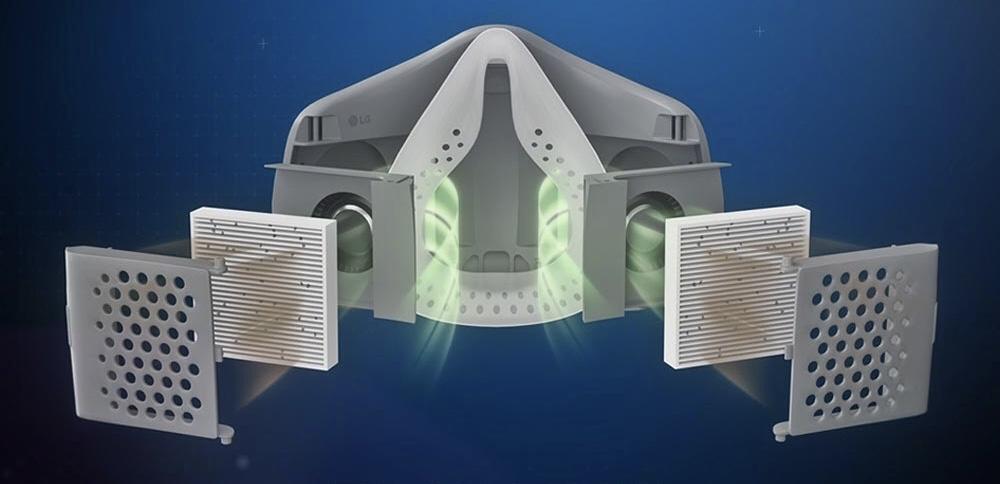 Pelitup Muka LG PuriCare Wearable Air Purifier kini dibuka untuk pra-tempahan di Malaysia pada harga dari RM 749 14