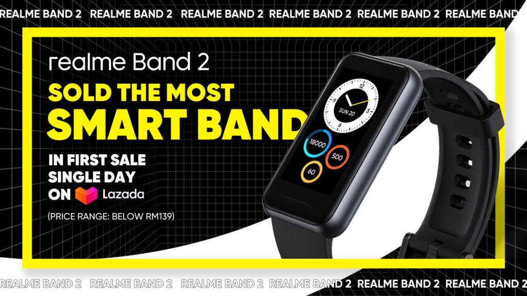 realme Band 2 kini di Malaysia - dapatkanya di Lazada sekarang 3