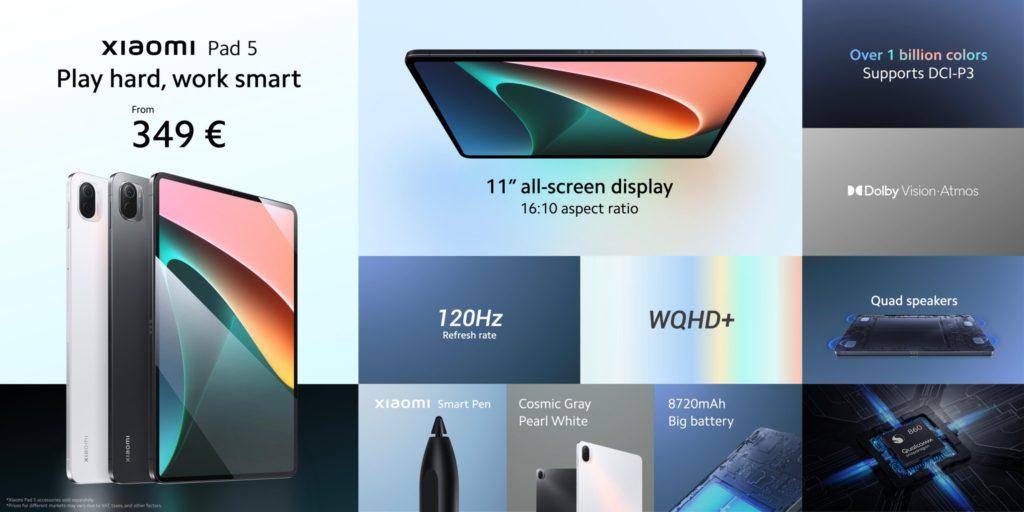 Xiaomi Pad 5 kini rasmi untuk pasaran antarabangsa pada harga sekitar RM 1,714 11