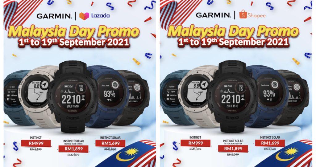 Jam Pintar Kecergasan Garmin kini hadir dengan harga promosi istimewa Hari Malaysia - dapatkanya sekarang di Lazada dan Shopee 10