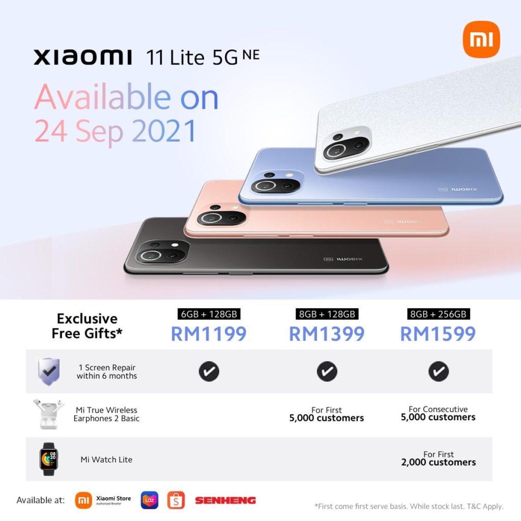 Xiaomi 11 Lite 5G NE kini rasmi di Malaysia pada harga serendah RM 1199 sahaja 6