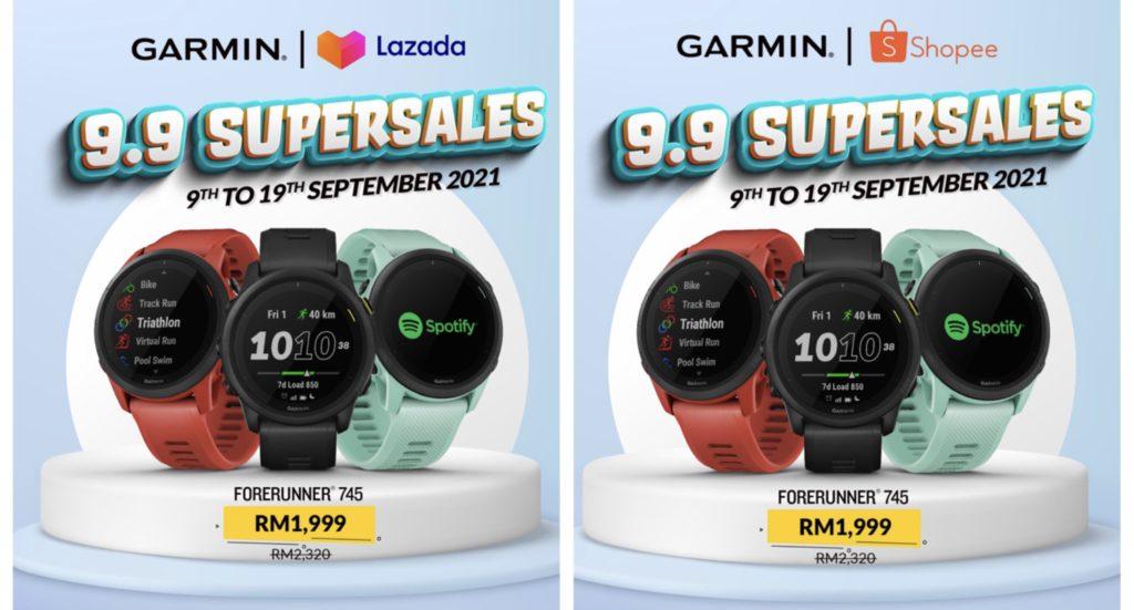 Jam Pintar Kecergasan Garmin kini hadir dengan harga promosi istimewa Hari Malaysia - dapatkanya sekarang di Lazada dan Shopee 11