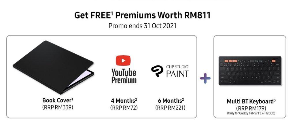 Samsung Galaxy Tab S7 FE kini rasmi di Malaysia pada harga RM 1,899 20