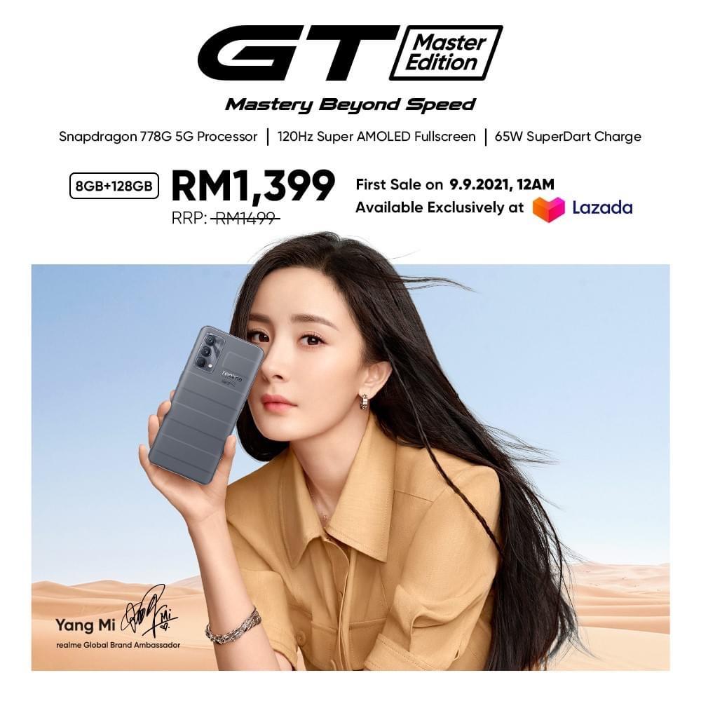 realme GT Master Edition kini rasmi di Malaysia pada harga RM 1,499 sahaja 5