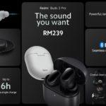 Redmi Buds 3 Pro dan Redmi Buds 3 kini rasmi di Malaysia pada harga dari RM 139
