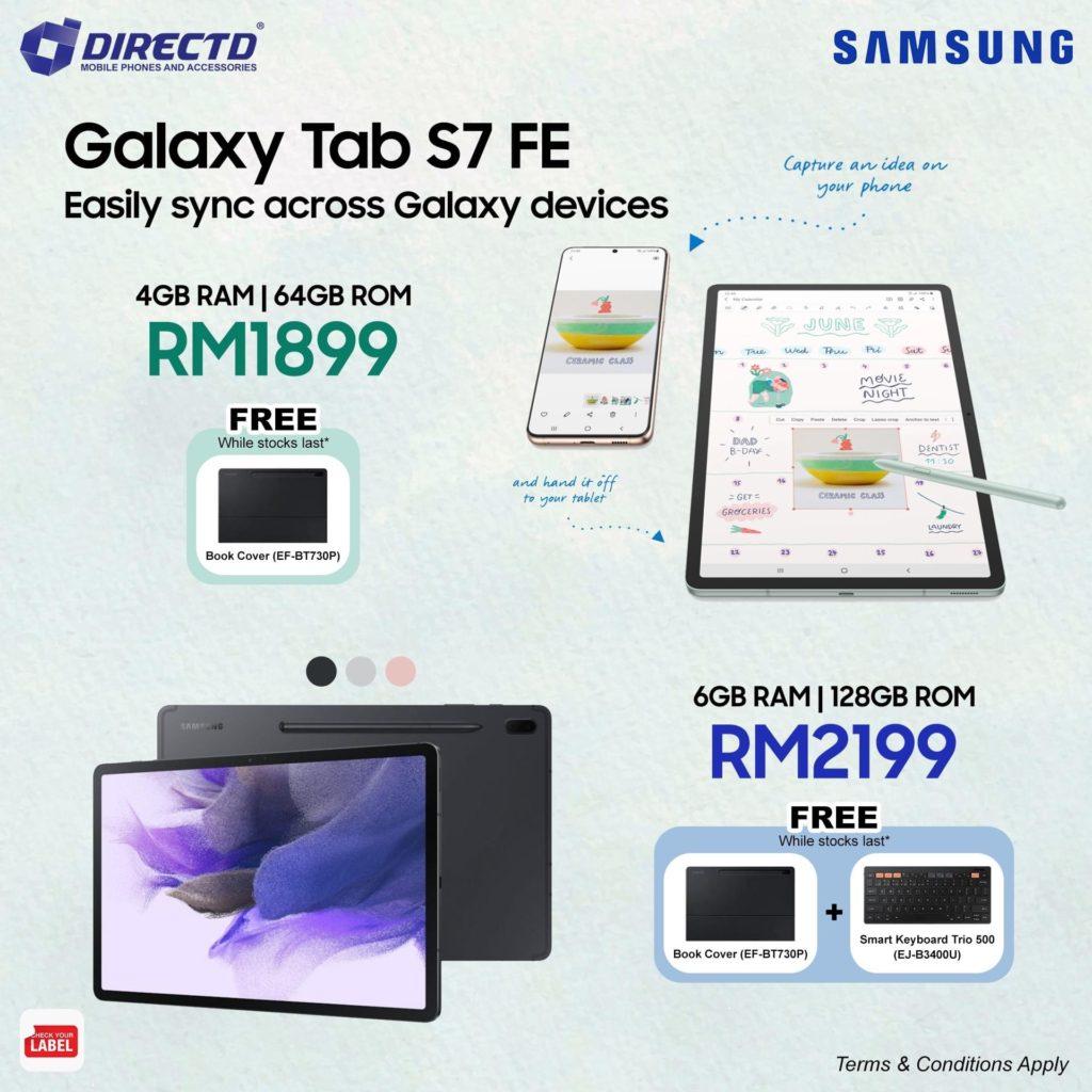 Samsung Galaxy Tab S7 FE kini dibuka untuk pra-tempahan- harga dari RM 1,899 11