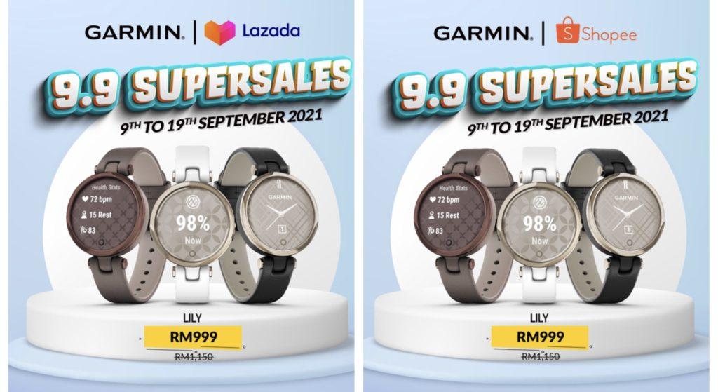 Jam Pintar Kecergasan Garmin kini hadir dengan harga promosi istimewa Hari Malaysia - dapatkanya sekarang di Lazada dan Shopee 12