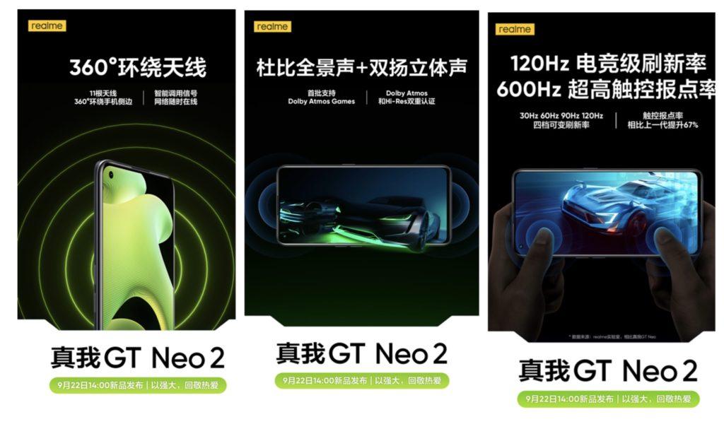 Spesifikasi realme GT Neo2 didedahkan secara rasmi 12