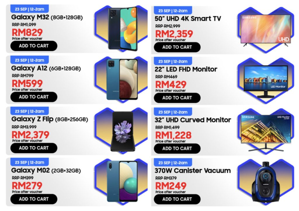Samsung Super Brand Day akan berlangsung di Lazada pada 23 September ini - Galaxy Z Flip hanya RM 2,399 6