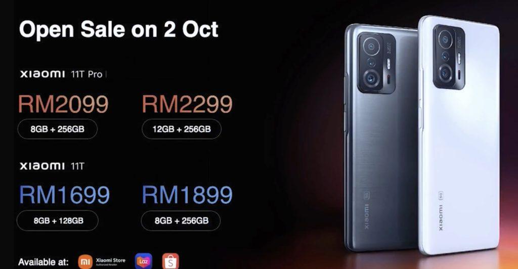 Xiaomi 11T dan Xiaomi 11T Pro kini rasmi di Malaysia pada harga serendah dari RM 1,699 13