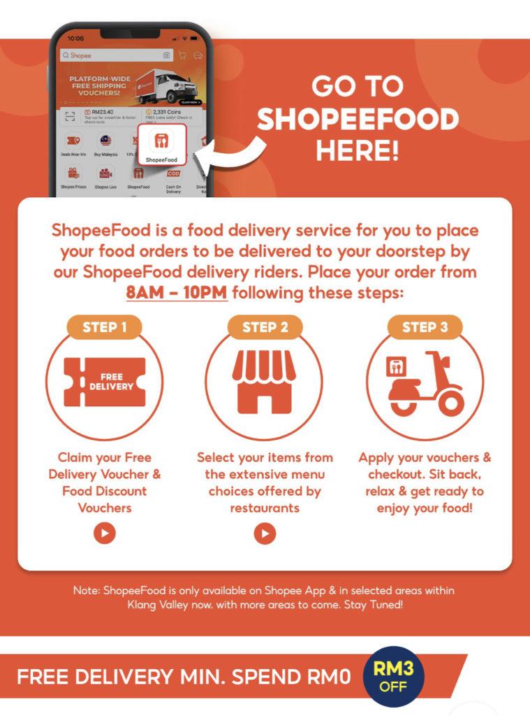 Perkhidmatan ShopeeFood akan mula beroperasi pada 24 September ini di Lembah Klang 6