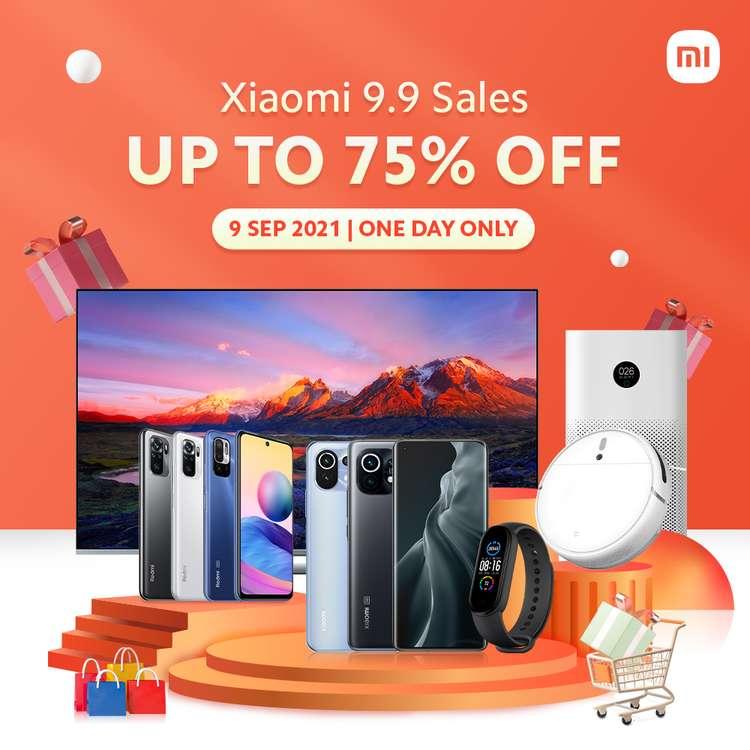 Xiaomi 9.9 Sale akan berlangsung pada 9 September ini secara eksklusif di Lazada dan Shopee 5