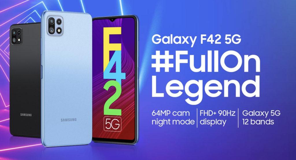 Samsung Galaxy F42 5G kini rasmi dengan harga sekitar RM 1,184 13