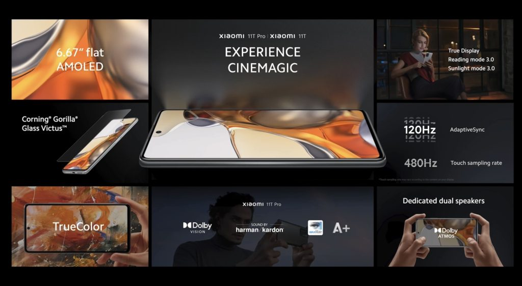 Xiaomi 11T Pro dan Xiaomi 11T kini rasmi dengan skrin paparan AMOLED 120Hz, Pengecasan HyperCharge 120W dan Snapdragon 888 17