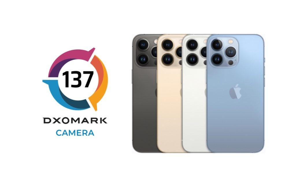 Apple iPhone 13 Pro menduduki tempat ke-4 ujian kamera DxOMark dengan 137 mata 7
