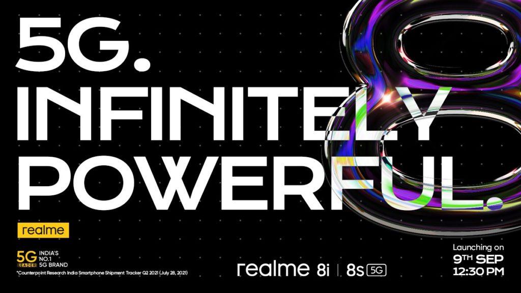 realme 8s 5G dan realme 8i akan dilancarkan pada 9 September ini 7