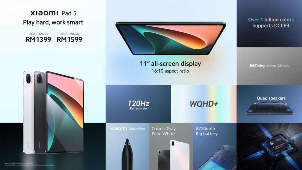Xiaomi Pad 5 dengan skrin paparan 120Hz dan Snapdragon 860 kini rasmi di Malaysia pada harga RM 1,399 7