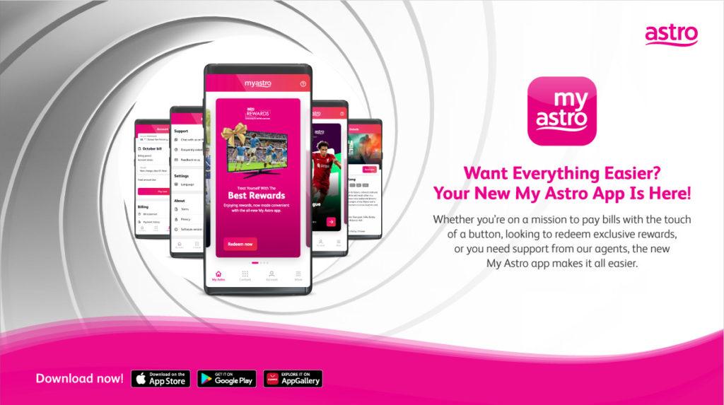 Astro lancarkan aplikasi My Astro serba baharu yang lebih lengkap dan mudah diguna 3