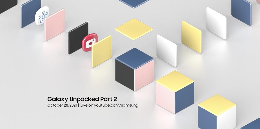Samsung Galaxy Unpacked Part 2 akan berlangsung pada 20 Oktober ini 3
