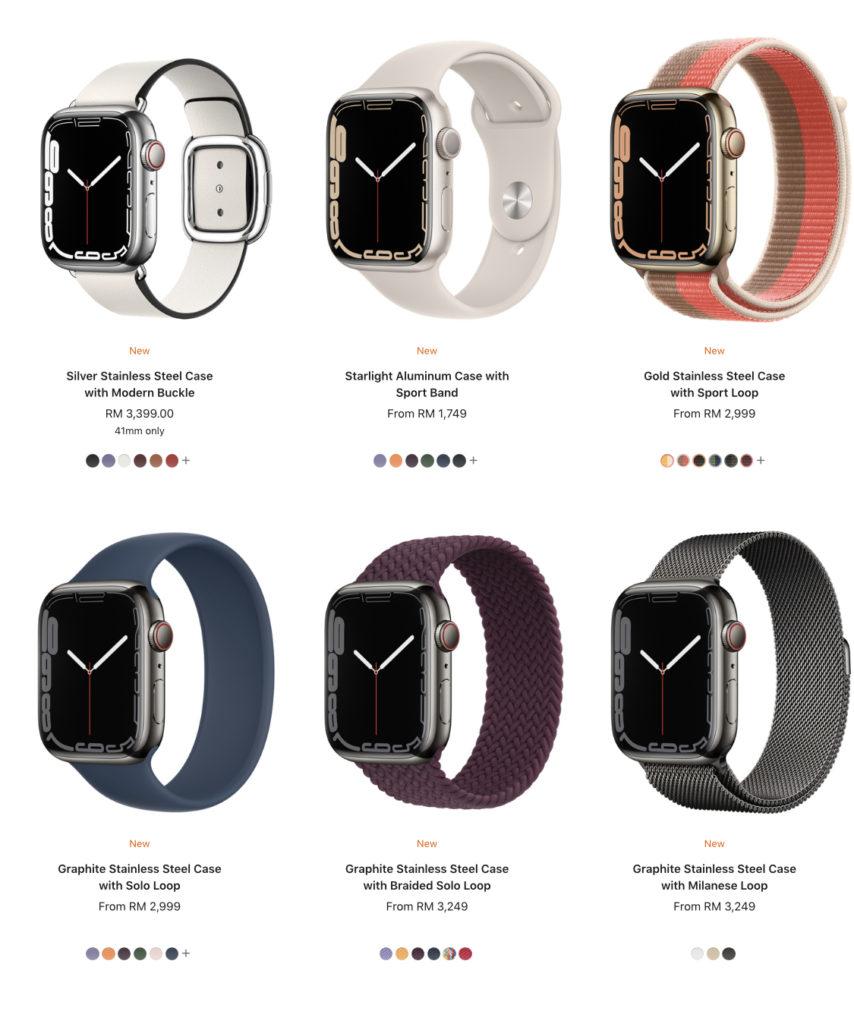Harga Apple Watch Series 7 di Malaysia diumumkan - dari RM 1,749 16