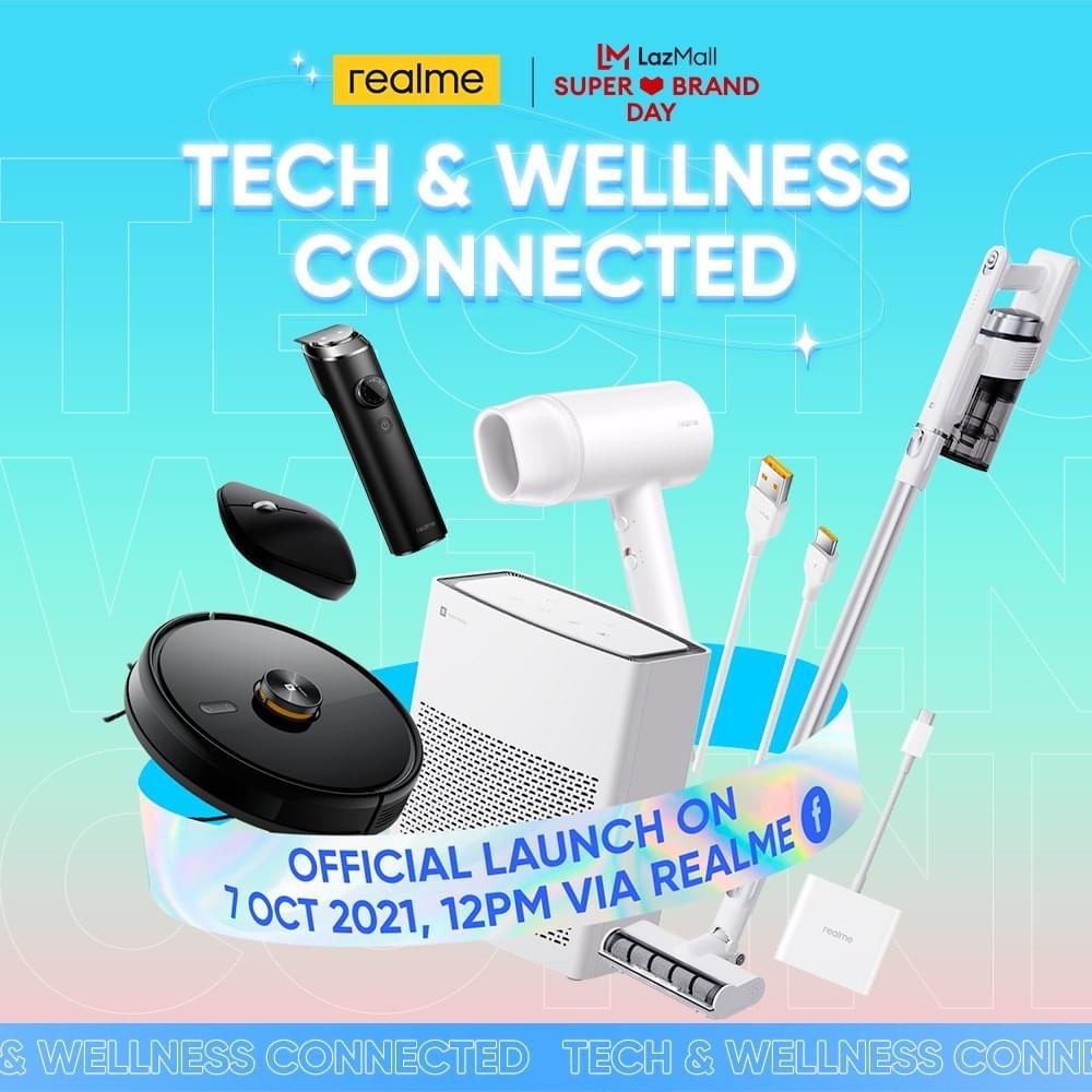 realme Malaysia akan lancarkan beberapa produk AIoT pada 7 Oktober ini - termasuk realme Air Purifier 3