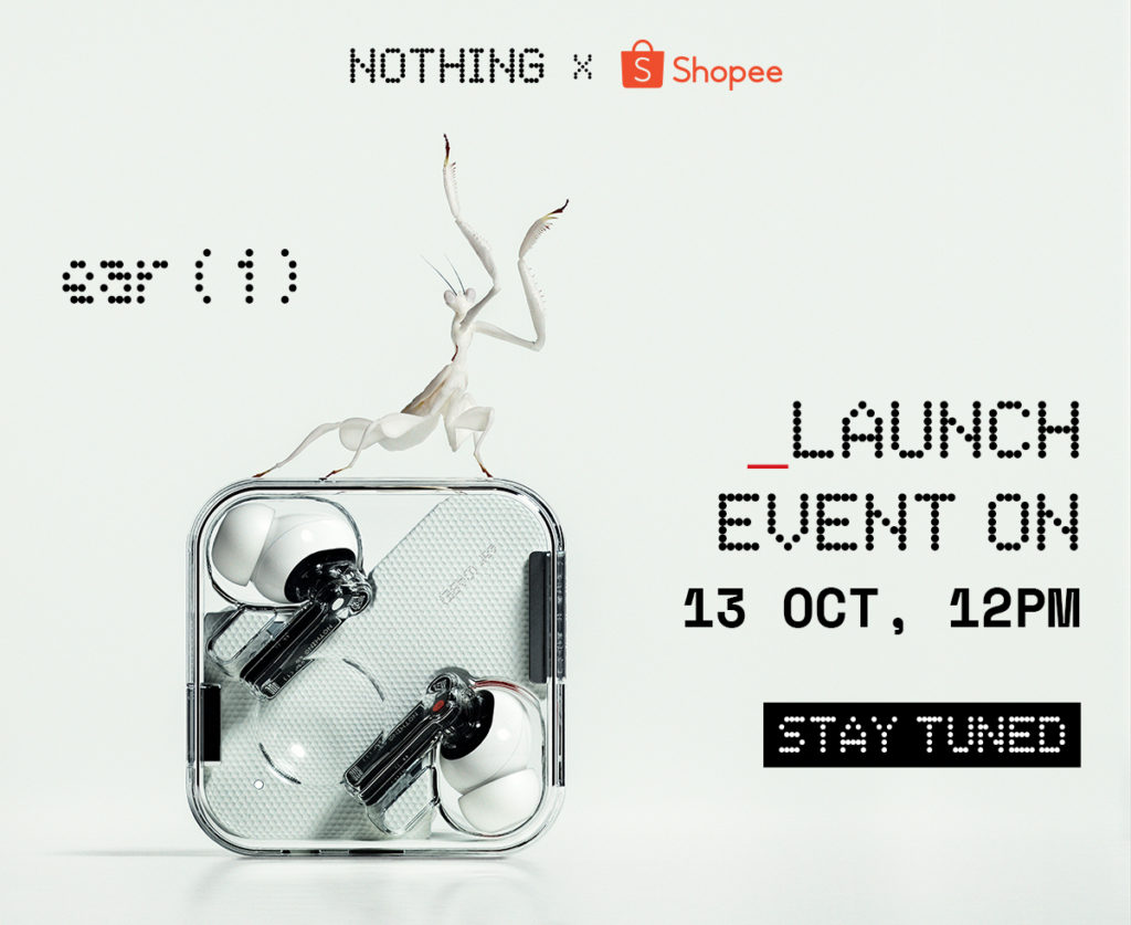 TWS Nothing ear (1) akan dilancarkan di Malaysia pada 13 Oktober ini 7