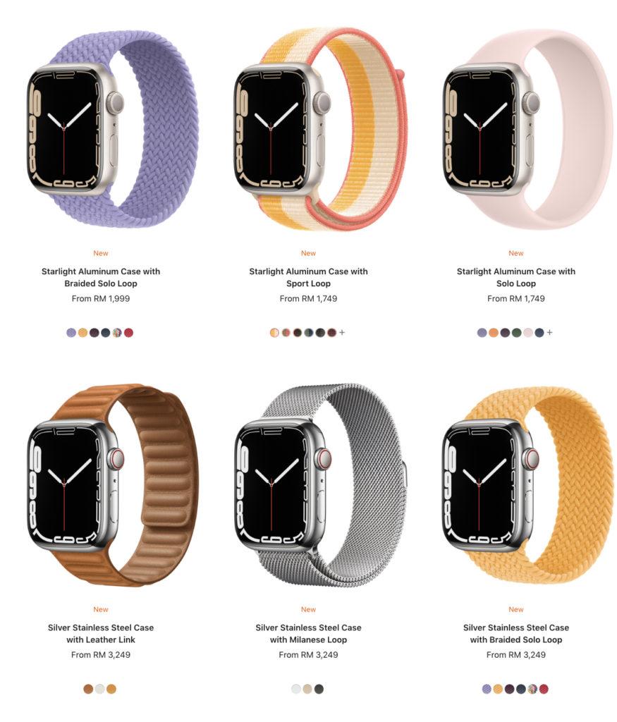 Harga Apple Watch Series 7 di Malaysia diumumkan - dari RM 1,749 17