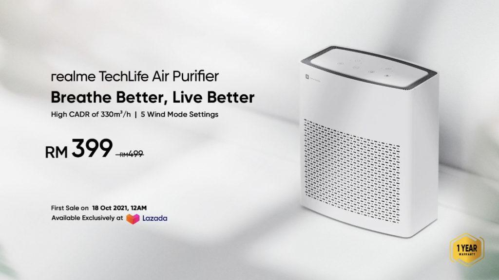 realme Malaysia lancarkan 7 produk rumah pintar - harga promosi realme AirPurifier hanya RM 399 15
