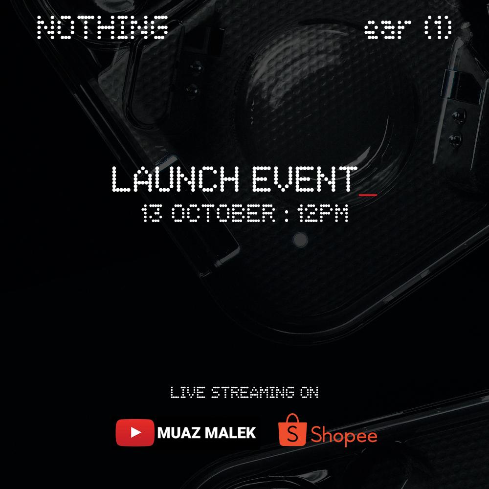 TWS Nothing ear (1) akan dilancarkan di Malaysia pada 13 Oktober ini 8